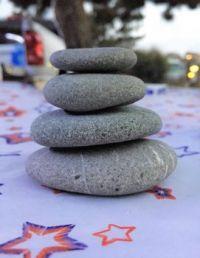 Camping stones
