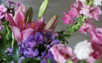 lily, phlox, snapdragon bouquet