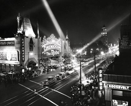 "GRAUMANS CHINESE, HOLLYWOOD - PREMIERE OF ""THE ROBE"" - 16th Sept.1953"