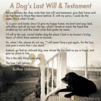 If dogs could write...