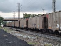 Coal Train on a dreary afternoon
