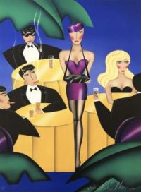 Art Deco  'Cigars, Cigarettes 1981'