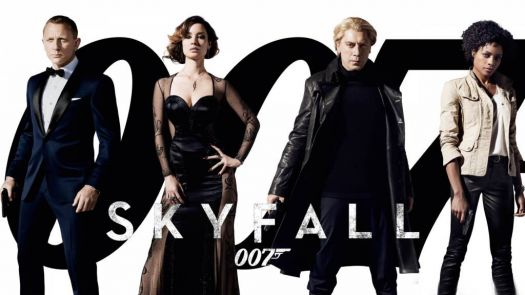 "The 23rd James Bond film, ""Skyfall"" (2012)."