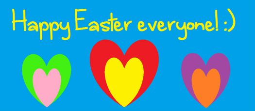 Happy easter everyone :) <333