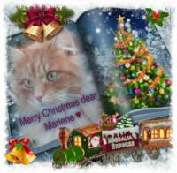 Merry Christmas dear Auntie  Marlene, Duchess of DL Castle ♥♥♥