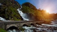 Latefossen, Norway ..................