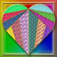 Mosaic Heart Puzzle
