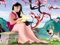 Mulan in the Garden