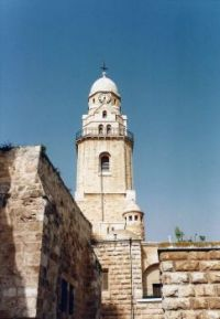 A89 Church in the Old Walled City, Jerusalem, 1994 Israel trip