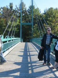 Bridge over French River