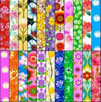 Fun Florals  (BOARDS)  - XL