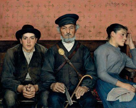 Jean-Eugène Buland, Flagrant Délit (1893)
