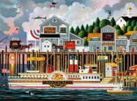 Charles Wysocki - By the Sea