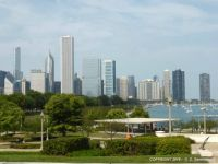 USA - Chicago Skyline (View from the Shedd Aquarium)