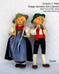 Dolls from Austria