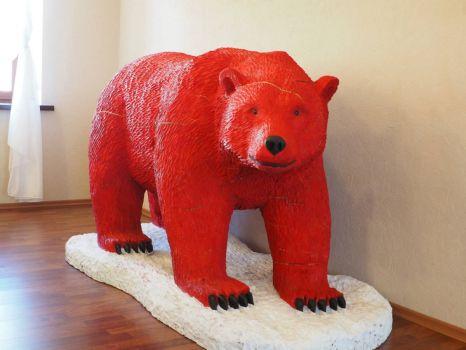 Red Bear, Barentsburg, Svalbard