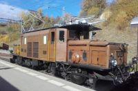 Vintage Swiss locomotive