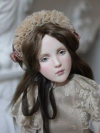 Exquisite Rosie Collectible Vintage Style Art Doll