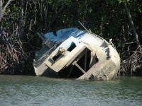 Sunken Boat, Port Douglas, Australia