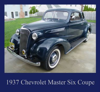 1937 Chevrolet Master Six Coupe