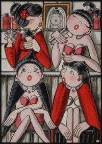Mirota Artwork  -  In the Salon