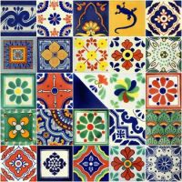 More Mexican tiles