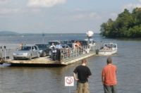 The old Oka - Hudson ferry