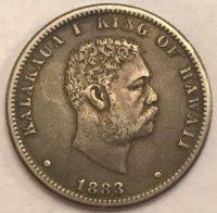 Kingdom of Hawaii 1/4 Dollar