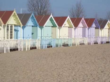West Mersea Beach Huts