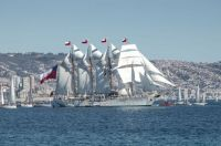 Emerald Ship School of the Chilean Navy