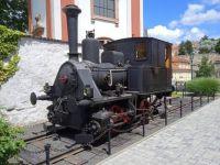 Lokomotiva Kraus v Litoměřicích