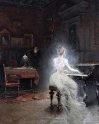Spirit, by George Roux, 1885.