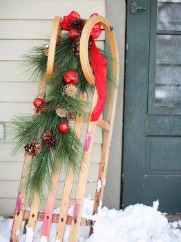 holiday sled