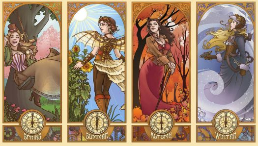 Steampunk Seasons