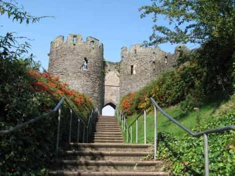 Conway Castle, N. Wales