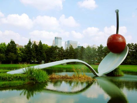 Spoonbridge and Cherry, Minnesota