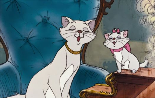 Aristocats --- mother and daughter singing