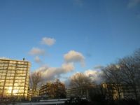 Afternoon sky over The Hague, Holland