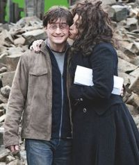 Harry Potter and Bellatrix Lestrange