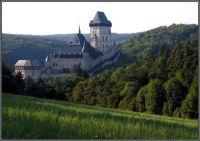 Hrad Karlštejn...  Castle Karlstejn /CZ ...