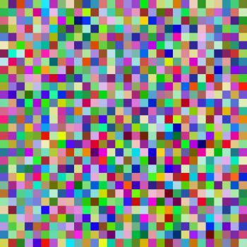 900 color squares too