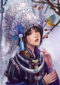 Spring Snow by Jiuge1111 via digital-art-gallery dot com