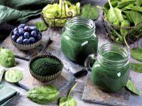 Green and blue veggies