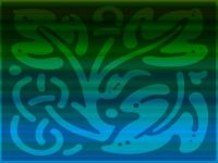 Blue Green Pattern