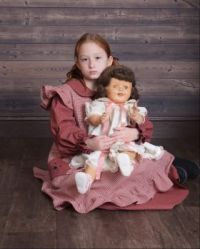 The creepy doll and my daughter
