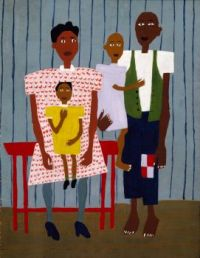 William H. Johnson Family Portrait