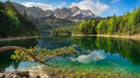 Lake-Eibsee-Bavarian-Alps