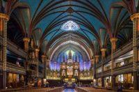 Notre-Dame Basilica in Quebec City, Montreal