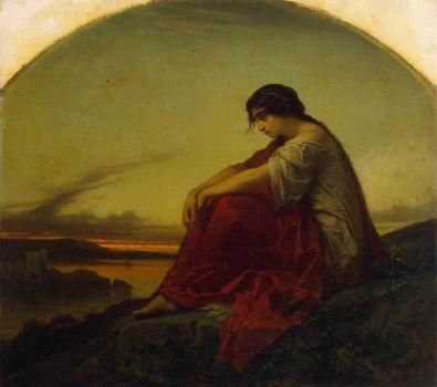Disillusion by Edouard Jean Conrad Hamman