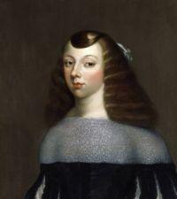 Portrait of Catherine of Braganza (1638-1705) after Dirk Stoop